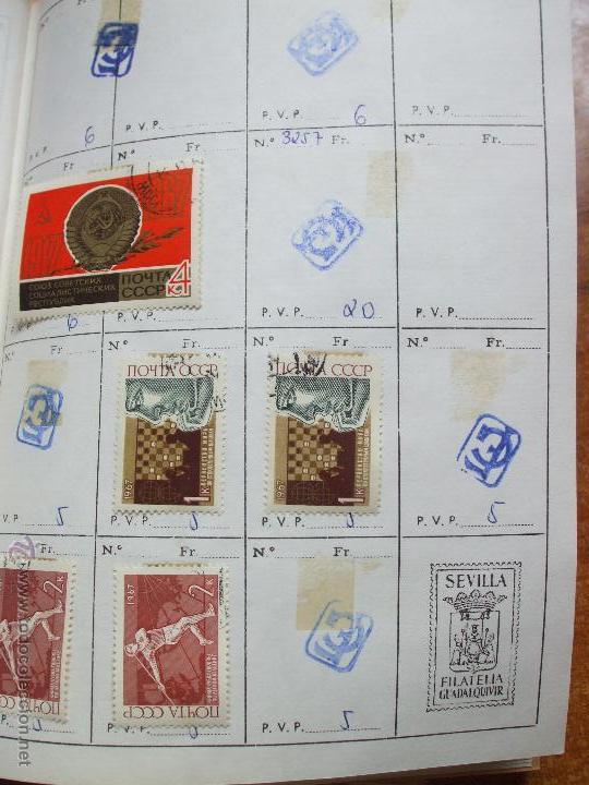 Sellos: .rusia 8 libretas aproximadamente 812 sellos clasificados, diversas calidades + fotos - Foto 19 - 50663116