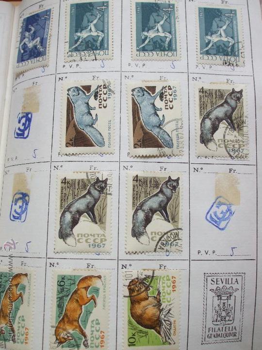 Sellos: .rusia 8 libretas aproximadamente 812 sellos clasificados, diversas calidades + fotos - Foto 20 - 50663116