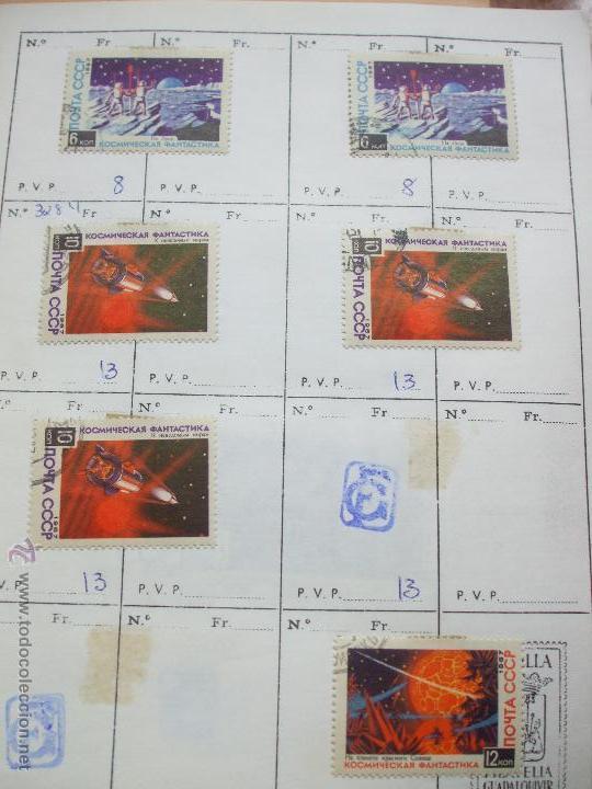 Sellos: .rusia 8 libretas aproximadamente 812 sellos clasificados, diversas calidades + fotos - Foto 21 - 50663116
