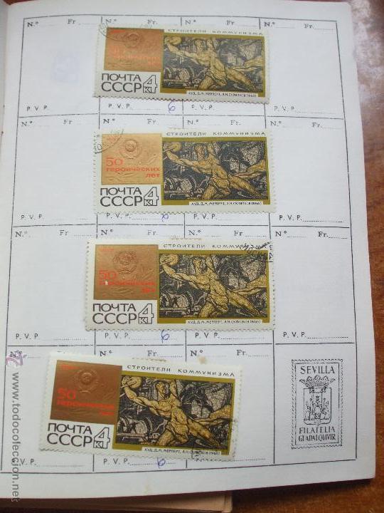 Sellos: .rusia 8 libretas aproximadamente 812 sellos clasificados, diversas calidades + fotos - Foto 22 - 50663116
