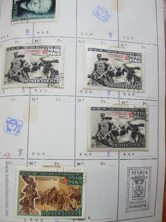 Sellos: .rusia 8 libretas aproximadamente 812 sellos clasificados, diversas calidades + fotos - Foto 26 - 50663116
