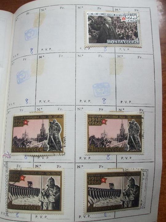 Sellos: .rusia 8 libretas aproximadamente 812 sellos clasificados, diversas calidades + fotos - Foto 28 - 50663116