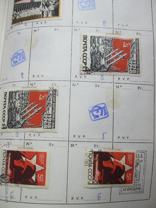 Sellos: .rusia 8 libretas aproximadamente 812 sellos clasificados, diversas calidades + fotos - Foto 29 - 50663116
