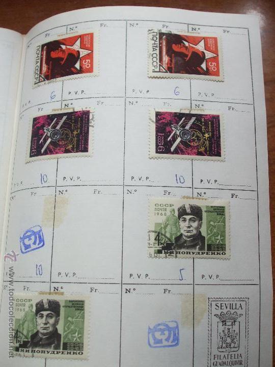 Sellos: .rusia 8 libretas aproximadamente 812 sellos clasificados, diversas calidades + fotos - Foto 30 - 50663116
