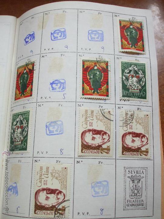 Sellos: .rusia 8 libretas aproximadamente 812 sellos clasificados, diversas calidades + fotos - Foto 31 - 50663116