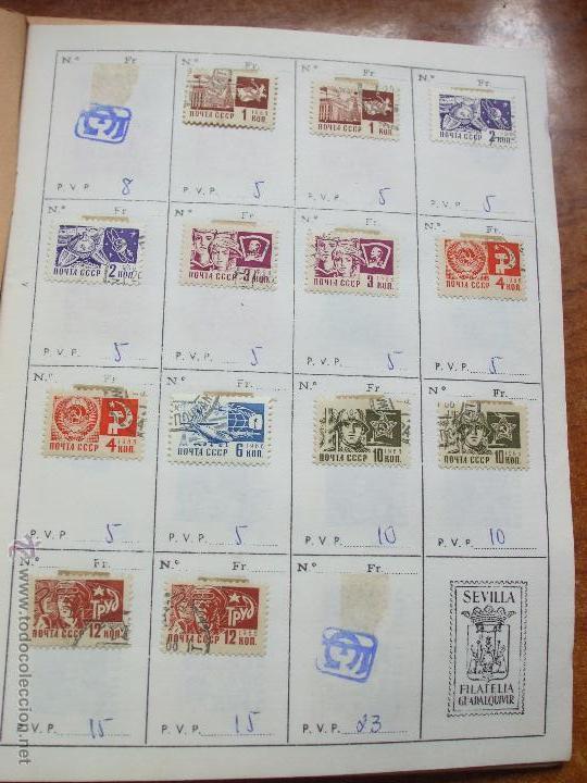 Sellos: .rusia 8 libretas aproximadamente 812 sellos clasificados, diversas calidades + fotos - Foto 32 - 50663116