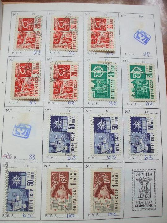 Sellos: .rusia 8 libretas aproximadamente 812 sellos clasificados, diversas calidades + fotos - Foto 33 - 50663116
