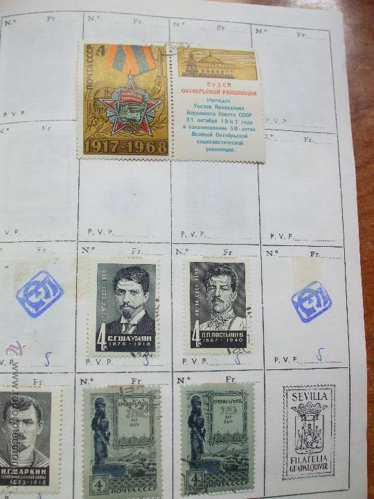 Sellos: .rusia 8 libretas aproximadamente 812 sellos clasificados, diversas calidades + fotos - Foto 36 - 50663116