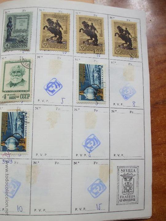 Sellos: .rusia 8 libretas aproximadamente 812 sellos clasificados, diversas calidades + fotos - Foto 37 - 50663116