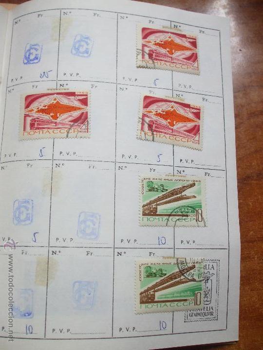 Sellos: .rusia 8 libretas aproximadamente 812 sellos clasificados, diversas calidades + fotos - Foto 38 - 50663116