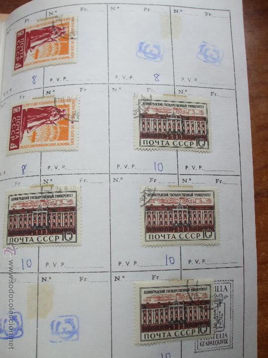 Sellos: .rusia 8 libretas aproximadamente 812 sellos clasificados, diversas calidades + fotos - Foto 39 - 50663116