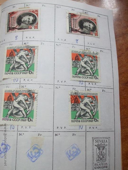 Sellos: .rusia 8 libretas aproximadamente 812 sellos clasificados, diversas calidades + fotos - Foto 41 - 50663116