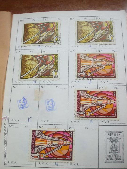 Sellos: .rusia 8 libretas aproximadamente 812 sellos clasificados, diversas calidades + fotos - Foto 42 - 50663116