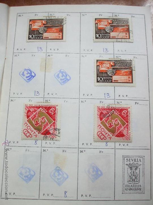 Sellos: .rusia 8 libretas aproximadamente 812 sellos clasificados, diversas calidades + fotos - Foto 43 - 50663116