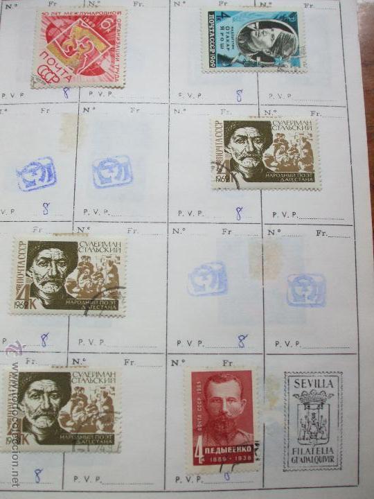 Sellos: .rusia 8 libretas aproximadamente 812 sellos clasificados, diversas calidades + fotos - Foto 44 - 50663116