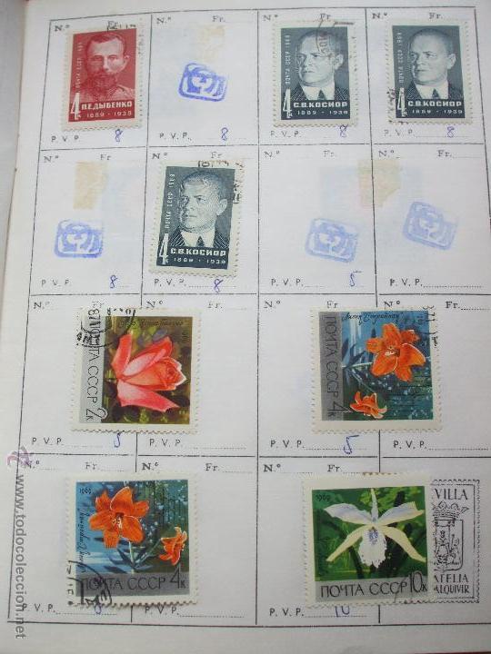 Sellos: .rusia 8 libretas aproximadamente 812 sellos clasificados, diversas calidades + fotos - Foto 45 - 50663116