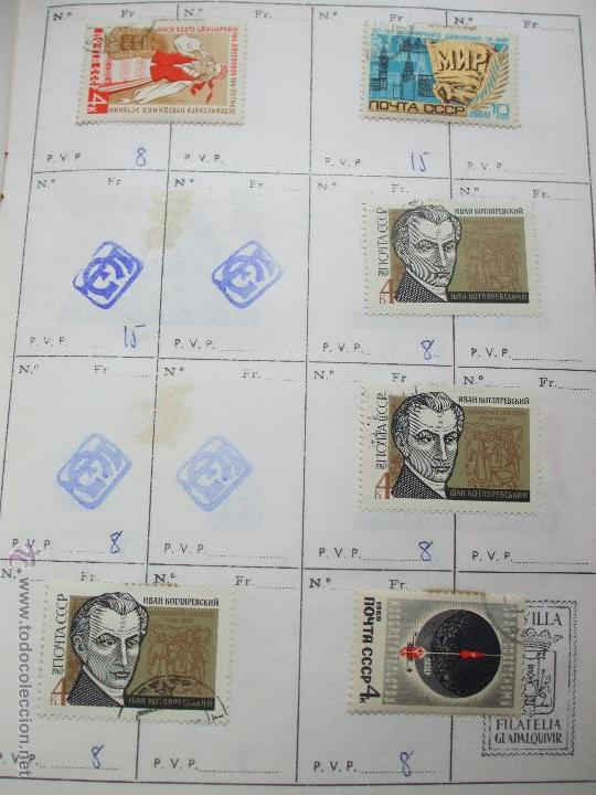 Sellos: .rusia 8 libretas aproximadamente 812 sellos clasificados, diversas calidades + fotos - Foto 47 - 50663116