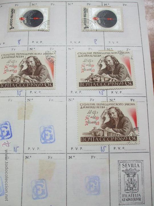 Sellos: .rusia 8 libretas aproximadamente 812 sellos clasificados, diversas calidades + fotos - Foto 48 - 50663116