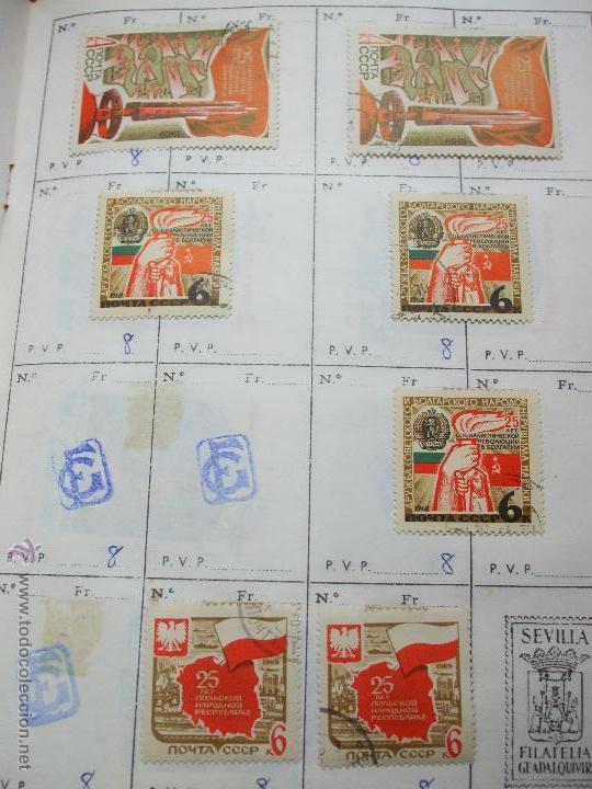 Sellos: .rusia 8 libretas aproximadamente 812 sellos clasificados, diversas calidades + fotos - Foto 49 - 50663116