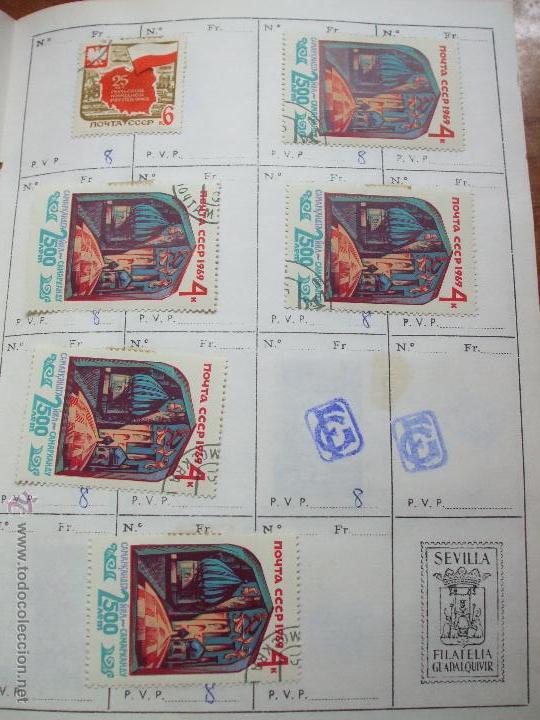 Sellos: .rusia 8 libretas aproximadamente 812 sellos clasificados, diversas calidades + fotos - Foto 50 - 50663116