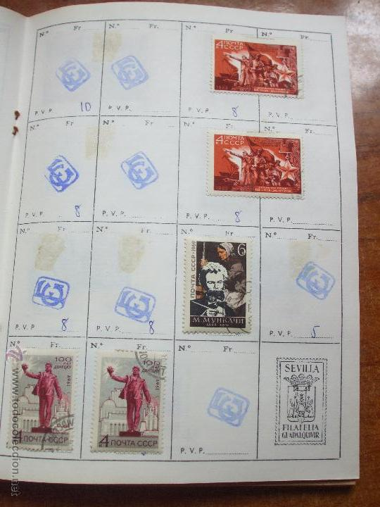 Sellos: .rusia 8 libretas aproximadamente 812 sellos clasificados, diversas calidades + fotos - Foto 51 - 50663116