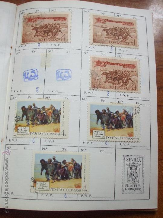 Sellos: .rusia 8 libretas aproximadamente 812 sellos clasificados, diversas calidades + fotos - Foto 52 - 50663116