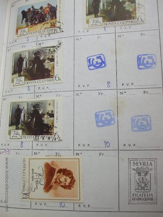 Sellos: .rusia 8 libretas aproximadamente 812 sellos clasificados, diversas calidades + fotos - Foto 53 - 50663116