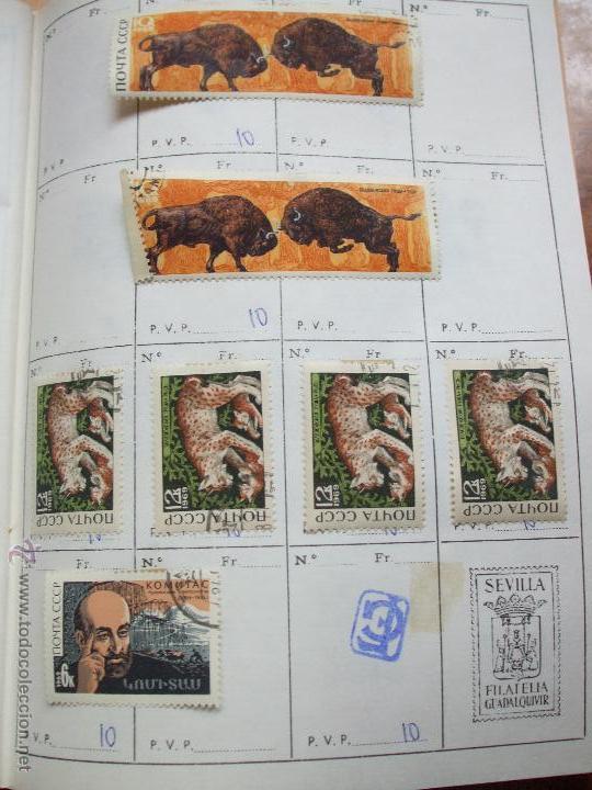 Sellos: .rusia 8 libretas aproximadamente 812 sellos clasificados, diversas calidades + fotos - Foto 56 - 50663116