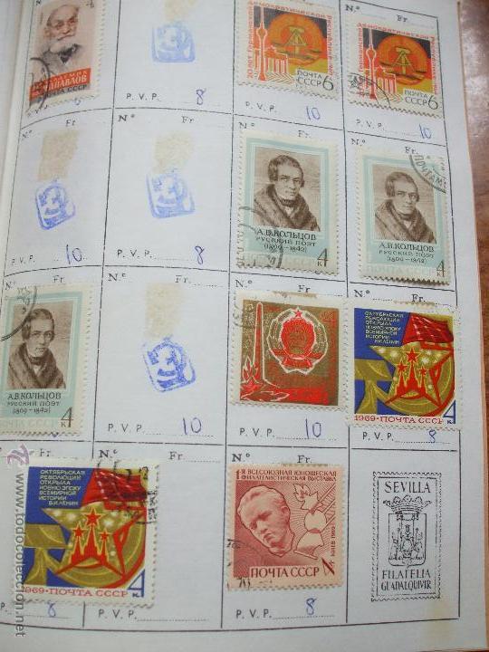 Sellos: .rusia 8 libretas aproximadamente 812 sellos clasificados, diversas calidades + fotos - Foto 58 - 50663116