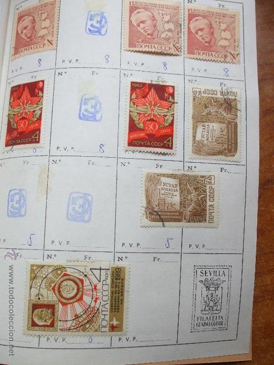Sellos: .rusia 8 libretas aproximadamente 812 sellos clasificados, diversas calidades + fotos - Foto 59 - 50663116