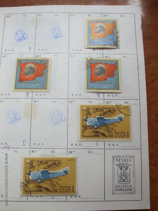 Sellos: .rusia 8 libretas aproximadamente 812 sellos clasificados, diversas calidades + fotos - Foto 60 - 50663116