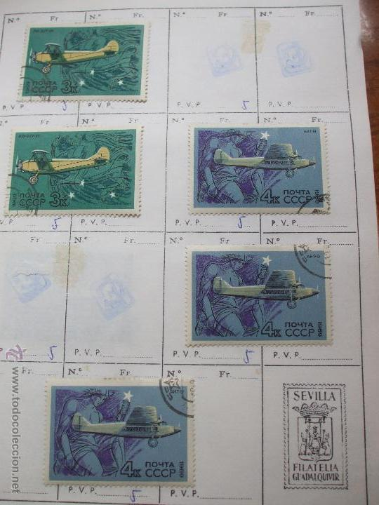 Sellos: .rusia 8 libretas aproximadamente 812 sellos clasificados, diversas calidades + fotos - Foto 61 - 50663116