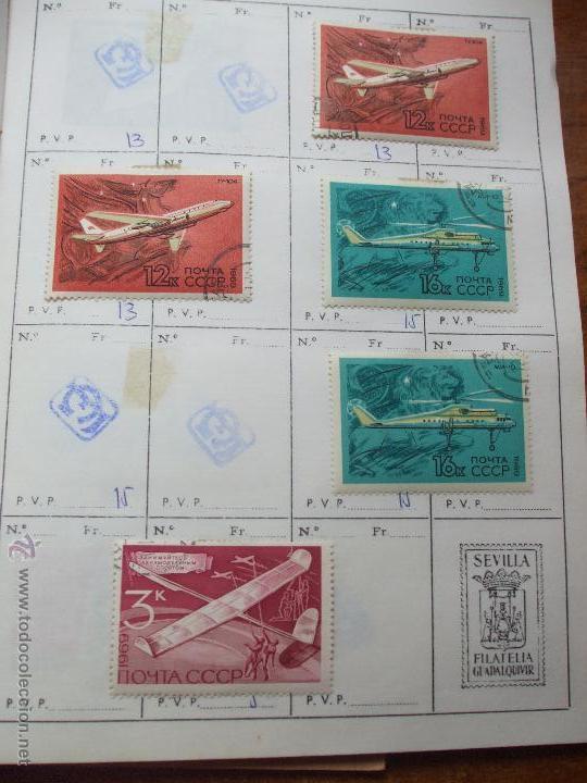 Sellos: .rusia 8 libretas aproximadamente 812 sellos clasificados, diversas calidades + fotos - Foto 63 - 50663116