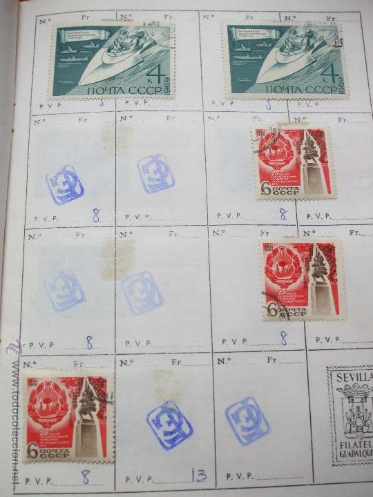 Sellos: .rusia 8 libretas aproximadamente 812 sellos clasificados, diversas calidades + fotos - Foto 64 - 50663116