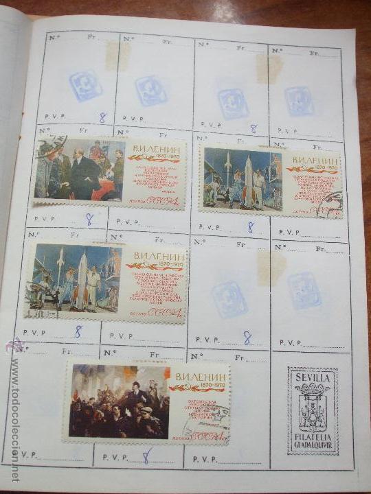 Sellos: .rusia 8 libretas aproximadamente 812 sellos clasificados, diversas calidades + fotos - Foto 65 - 50663116