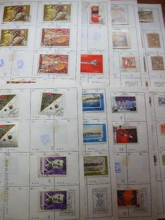 .RUSIA 8 LIBRETAS APROXIMADAMENTE 812 SELLOS CLASIFICADOS, DIVERSAS CALIDADES + FOTOS (Sellos - Extranjero - Europa - Rusia)