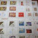 Sellos: .RUSIA 8 LIBRETAS APROXIMADAMENTE 812 SELLOS CLASIFICADOS, DIVERSAS CALIDADES + FOTOS. Lote 50663116