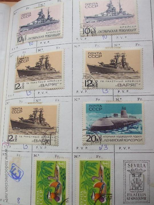 Sellos: .rusia 8 libretas aproximadamente 812 sellos clasificados, diversas calidades + fotos - Foto 67 - 50663116