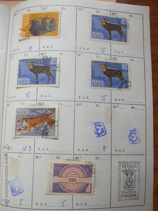Sellos: .rusia 8 libretas aproximadamente 812 sellos clasificados, diversas calidades + fotos - Foto 69 - 50663116