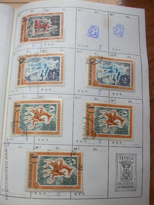Sellos: .rusia 8 libretas aproximadamente 812 sellos clasificados, diversas calidades + fotos - Foto 70 - 50663116
