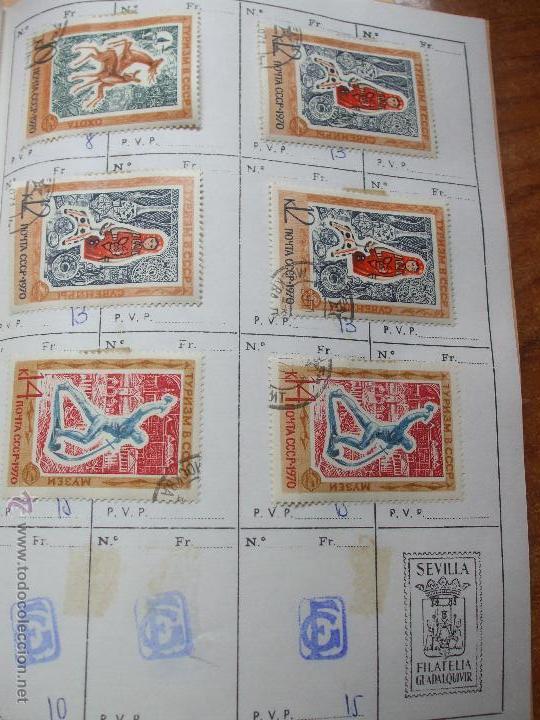 Sellos: .rusia 8 libretas aproximadamente 812 sellos clasificados, diversas calidades + fotos - Foto 71 - 50663116