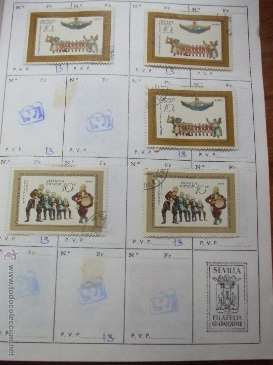 Sellos: .rusia 8 libretas aproximadamente 812 sellos clasificados, diversas calidades + fotos - Foto 73 - 50663116