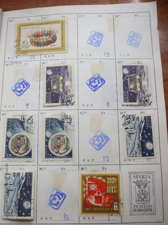 Sellos: .rusia 8 libretas aproximadamente 812 sellos clasificados, diversas calidades + fotos - Foto 74 - 50663116
