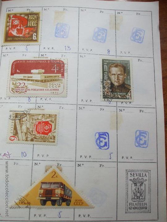 Sellos: .rusia 8 libretas aproximadamente 812 sellos clasificados, diversas calidades + fotos - Foto 75 - 50663116