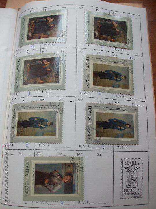 Sellos: .rusia 8 libretas aproximadamente 812 sellos clasificados, diversas calidades + fotos - Foto 80 - 50663116