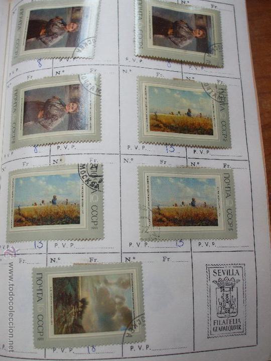 Sellos: .rusia 8 libretas aproximadamente 812 sellos clasificados, diversas calidades + fotos - Foto 81 - 50663116
