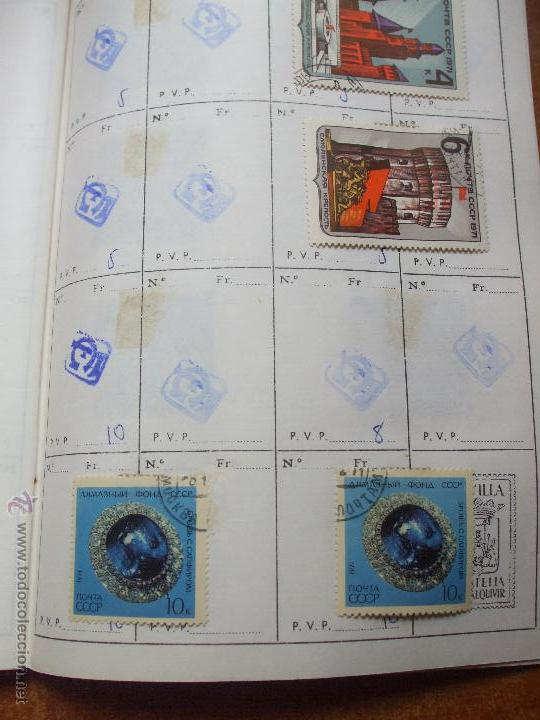 Sellos: .rusia 8 libretas aproximadamente 812 sellos clasificados, diversas calidades + fotos - Foto 82 - 50663116