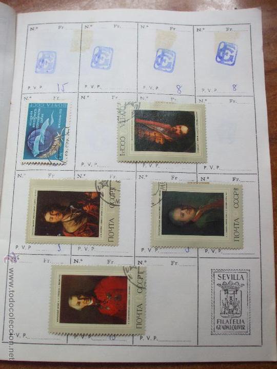 Sellos: .rusia 8 libretas aproximadamente 812 sellos clasificados, diversas calidades + fotos - Foto 87 - 50663116
