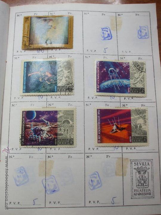 Sellos: .rusia 8 libretas aproximadamente 812 sellos clasificados, diversas calidades + fotos - Foto 88 - 50663116