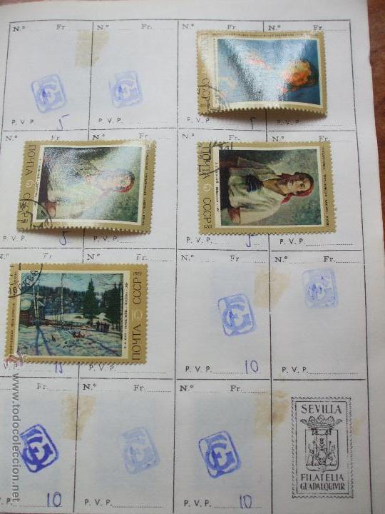 Sellos: .rusia 8 libretas aproximadamente 812 sellos clasificados, diversas calidades + fotos - Foto 89 - 50663116